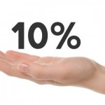 A small percentage that makes a big difference