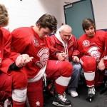 BSM hockey chaplain: The key is prayer