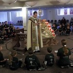 Students enjoy Faith Rally at Stillwater school