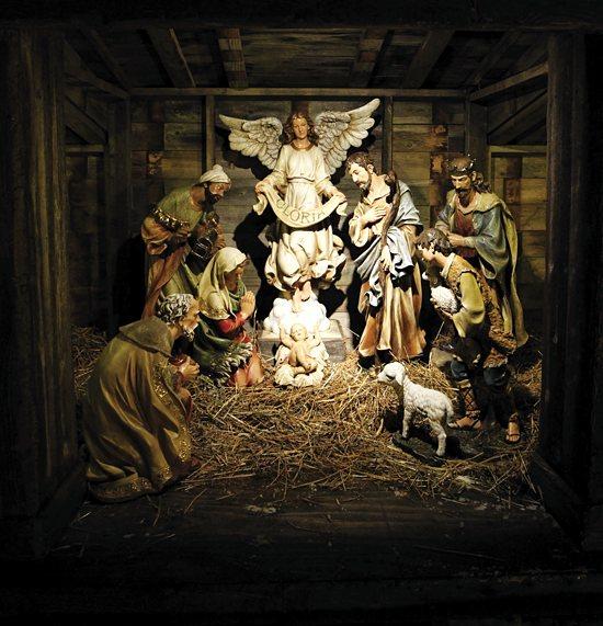 Nativity scene at St. Paul Seminary. Dave Hrbacek / The Catholic Spirit