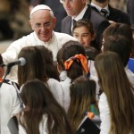 Pope nixes 'boring' practice of reading text to students, uses Q&A