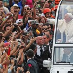 Crowds in Rio swarm pope, who wanted to be 'close to the people'