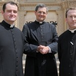 Parish welcomes head of Priestly Fraternity of St. Peter
