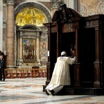 Bless me, Father: Pope leads by example, goes to confession