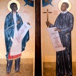 Two saints, two sons inspire liturgical art at Savage parish