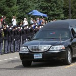 Photos: A salute to Officer Scott Patrick
