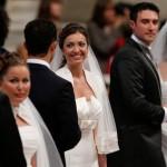 At wedding, pope says spouses make each other better men and women