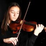 Teen inventor deems violin a healing instrument