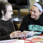 Through photos, Hill-Murray connects to memory care patients