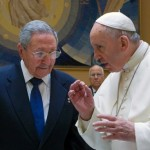 Castro says pope is so impressive he might start praying again