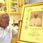 At almost 102, 'Prof Brown' isn't short on memories
