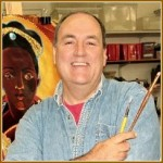 Brother-artist reflects with religious on beauty, prayer