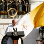 Pope, 'son of immigrant family,' tells Obama he's ready to learn in U.S.