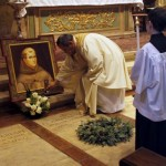 Statute of St. Junipero Serra defaced at California's Carmel Mission